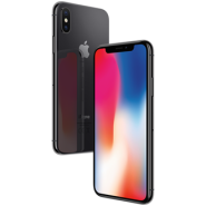 Apple IPhone X  refurbished leveres med sikkerhedsglas